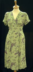 Green Rayon CC41 Dress from the British retailer Marks and Spencers.
